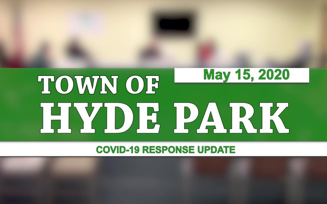 Hyde Park COVID-19 Response Update #8, 5/15/20