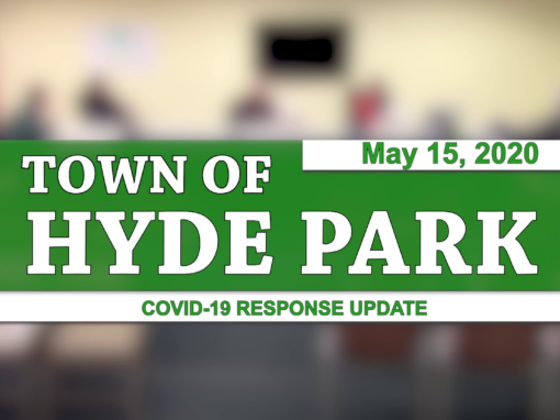 Hyde Park COVID-19 Response Update #8, 5/15/20