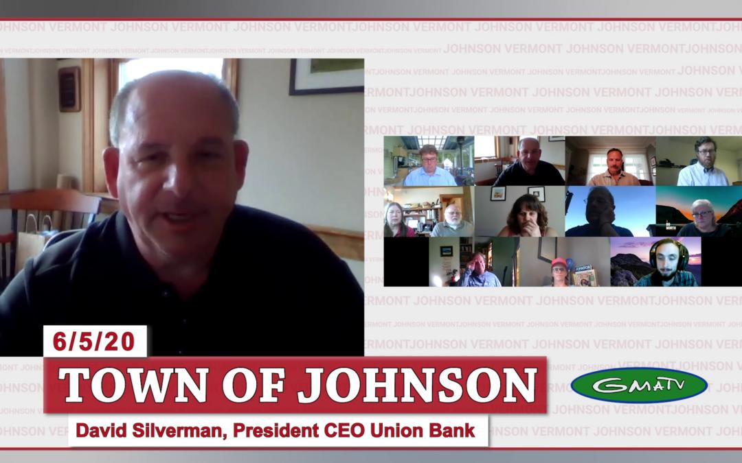 Johnson COVID-19 Response Update #13, 6/5/20 (David Silverman)