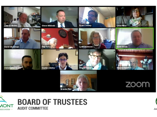 VSCS Board of Trustee Special Meeting, 6/1/20 (Audit Committee)