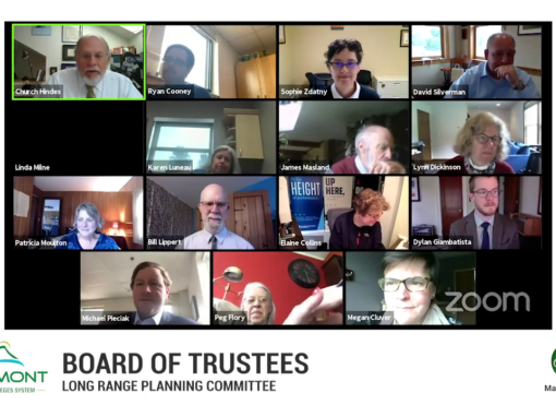 VSCS Board of Trustee Special Meeting, 6/1/20 (Long Range Planning Committee)