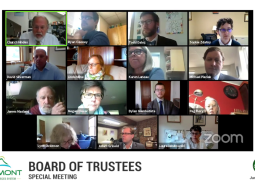 VSCS Board of Trustee Special Meeting, 6/1/20