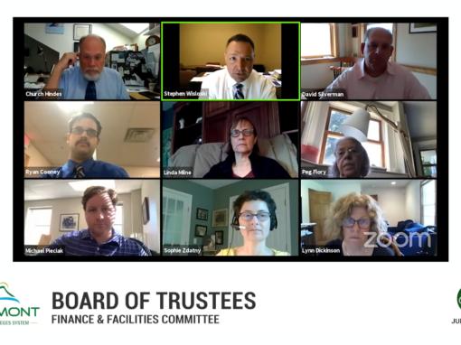 VSCS Board of Trustee Special Meeting, 6/17/20 (Finance & Facilities Committee)