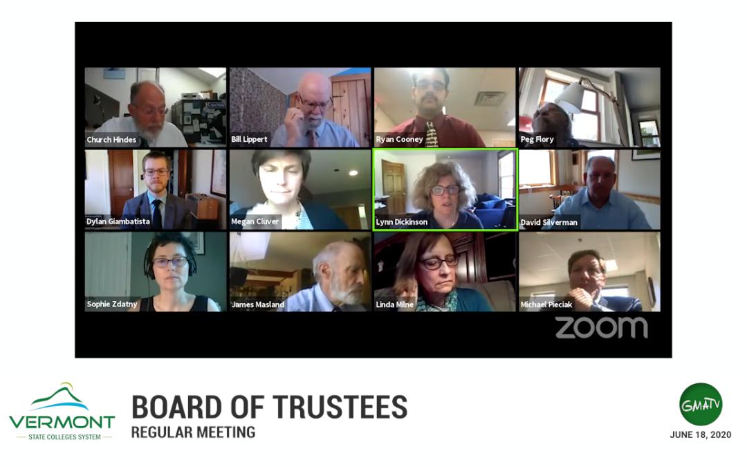 VSCS Board of Trustees Meeting 6/18/20