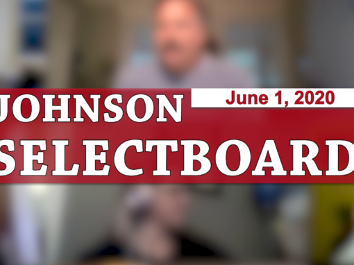 Johnson Selectboard, 6/1/20