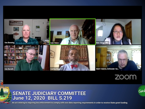 Senate Judiciary Committee: BILL S.219 (June 12, 2020)
