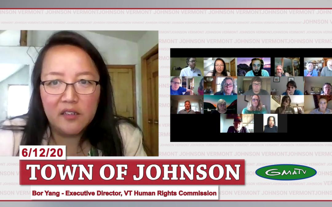Johnson COVID-19 Response Update #14, 6/12/20 (Bor Yang)