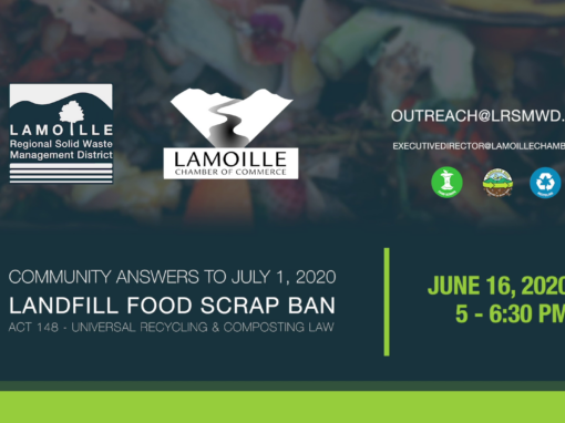 Community Answers to Act 148 Landfill Food Scrap Ban 6/16/2020