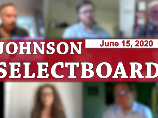 Johnson Selectboard 6/15/20