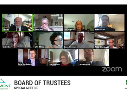 VSCS Board of Trustee Special Meeting, 6/29/20