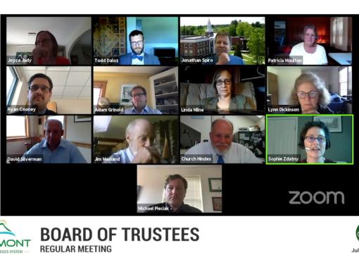 VSCS Board of Trustee Meeting, 7/6/20