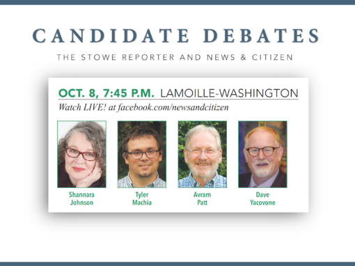 News & Citizen 10/8/20 – Lamoille-Washington Debate