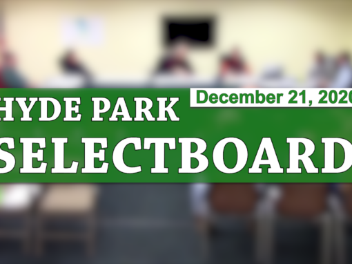 Hyde Park Selectboard, 12/21/20
