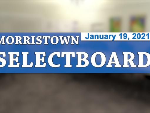 Morristown Selectboard 1/19/21
