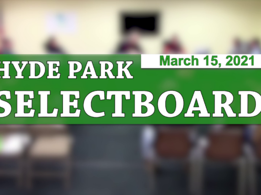 Hyde Park Selectboard 3/15/21