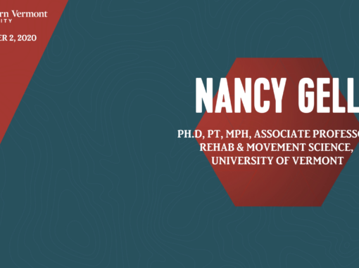 Current Topics in Science Series – Nancy Gell, PhD, PT
