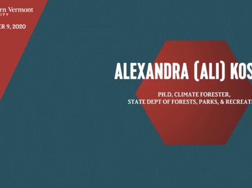 Current Topics in Science Series – Alexandra (Ali) Kosiba, PhD