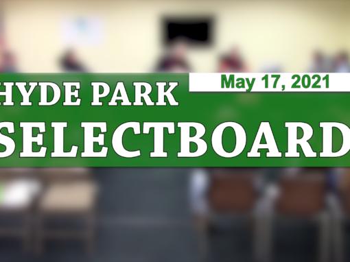 Hyde Park Selectboard 5/17/21