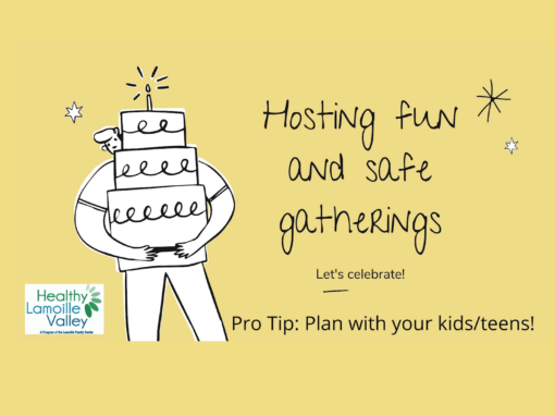 Healthy Lamoille Valley, Hosting Safe and Fun Gatherings Presentation