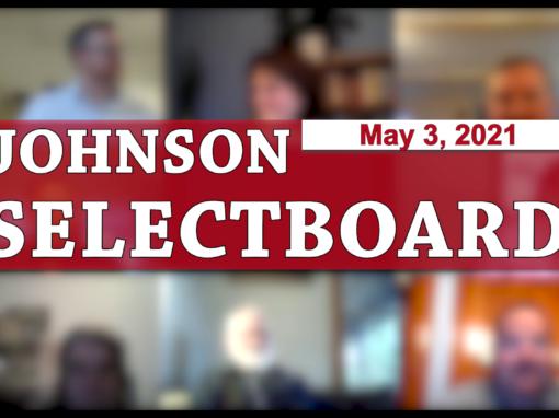Johnson Selectboard 5/3/21