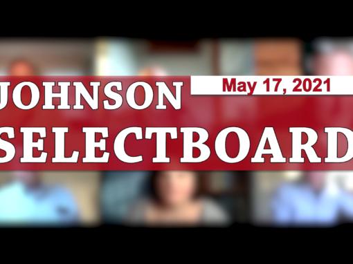 Johnson Selectboard 5/17/21