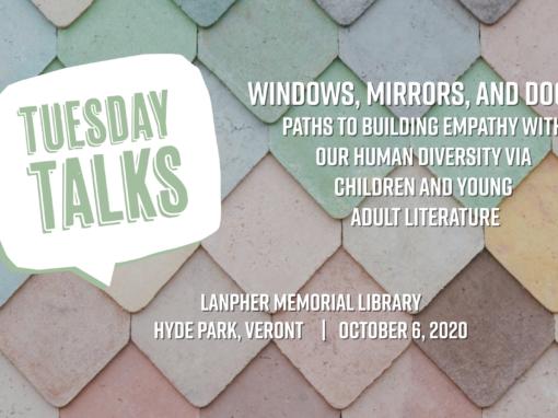 Tuesday Talks – Windows, Mirrors, and Doors