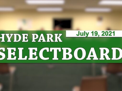 Hyde Park Selectboard 7/19/21