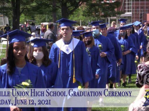 Lamoille Union High School Graduation 6/12/21