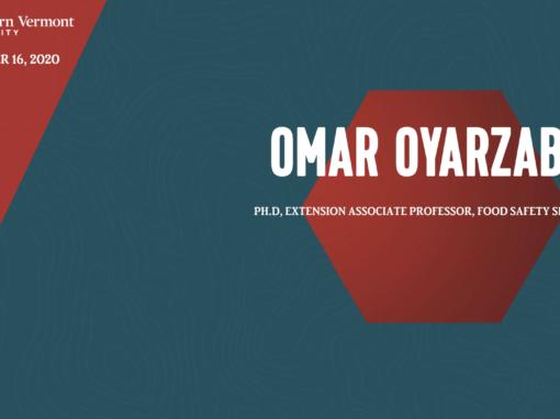 Current Topics in Science Series – Omar Oyarzabal, Phd