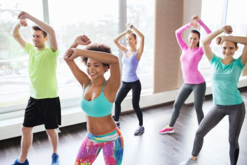 Group Fitness Class Indoors