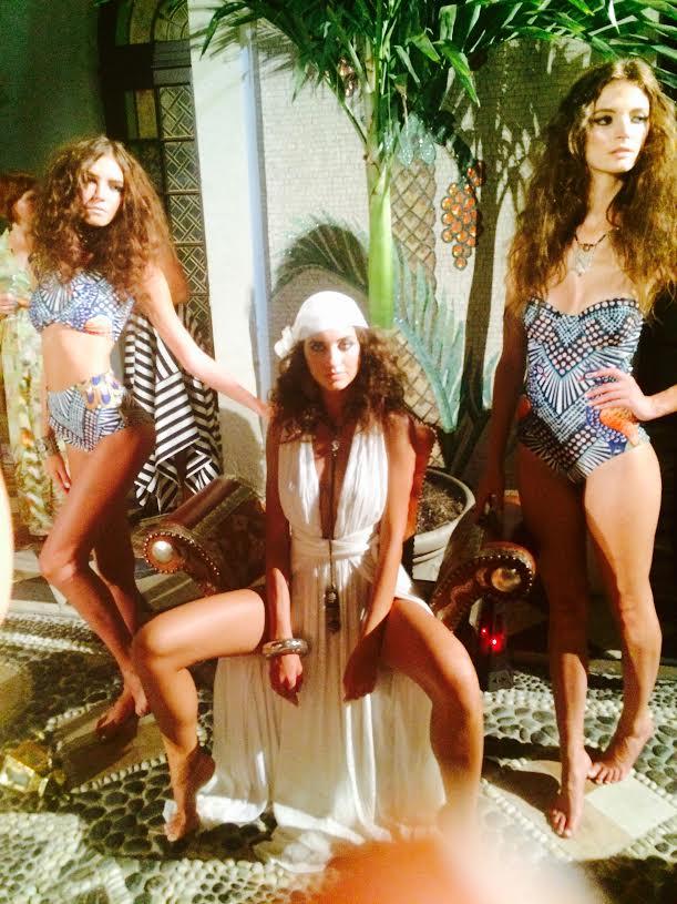 Mara Hoffman Cocktail Party & Resort 2016 Swimwear Presentation- Versace Mansion 1