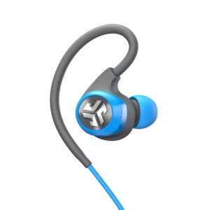 JLab Audio Epic2 Bluetooth 4.0 Wireless Sport Earbuds - exercise run & jump with these high impact waterproof IPX5 rated, skip-free pristine 8mm sound drivers and 12hr play time in blue or gray. | Fashions Digest