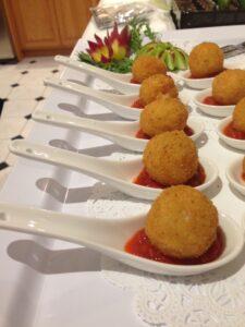 Arancini crispy risotto balls