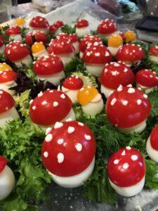 Alice in Wonderland Theme Mushrooms