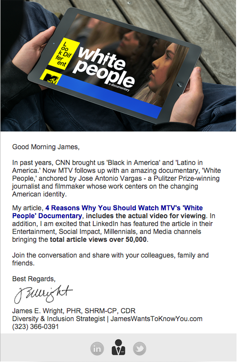 MTV White People Article