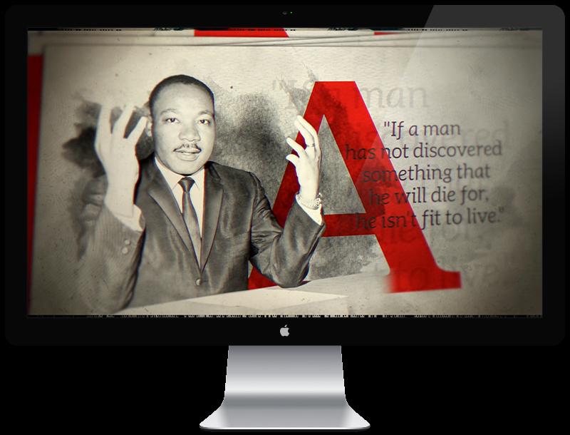 In His Own Words - MLK