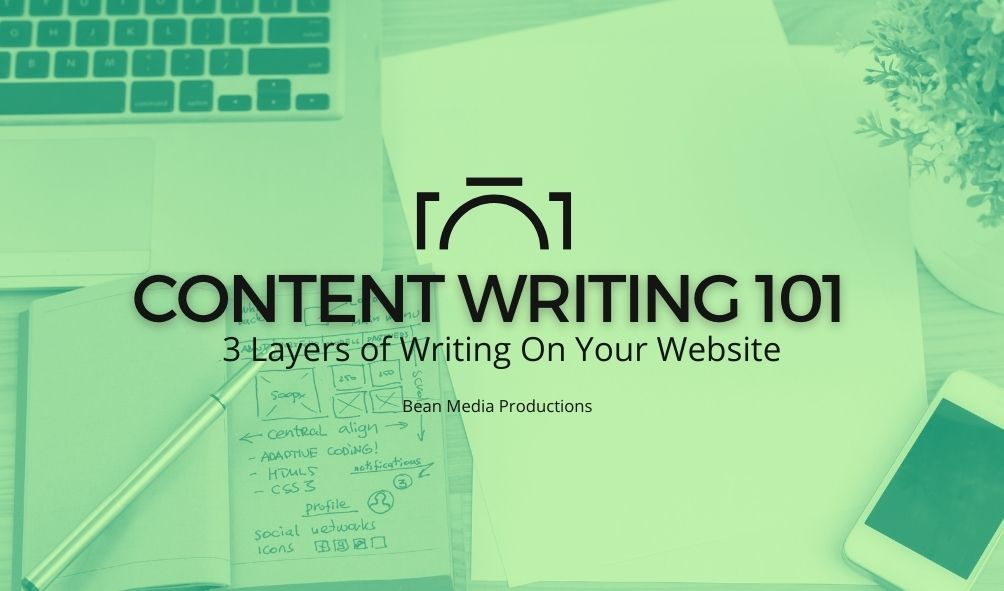 Content Writing 101 | 3 Layers of Writing On Your Website