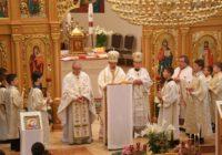 Архієрейська Божественна Літургія . Благословення Пасхальних страв