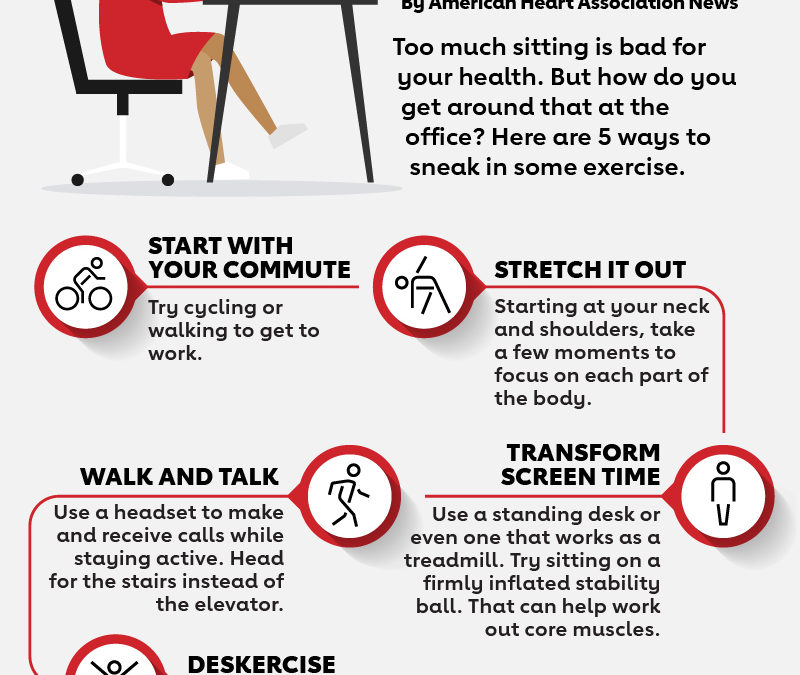 Making the most of your health in the workplace: Workplace Workouts