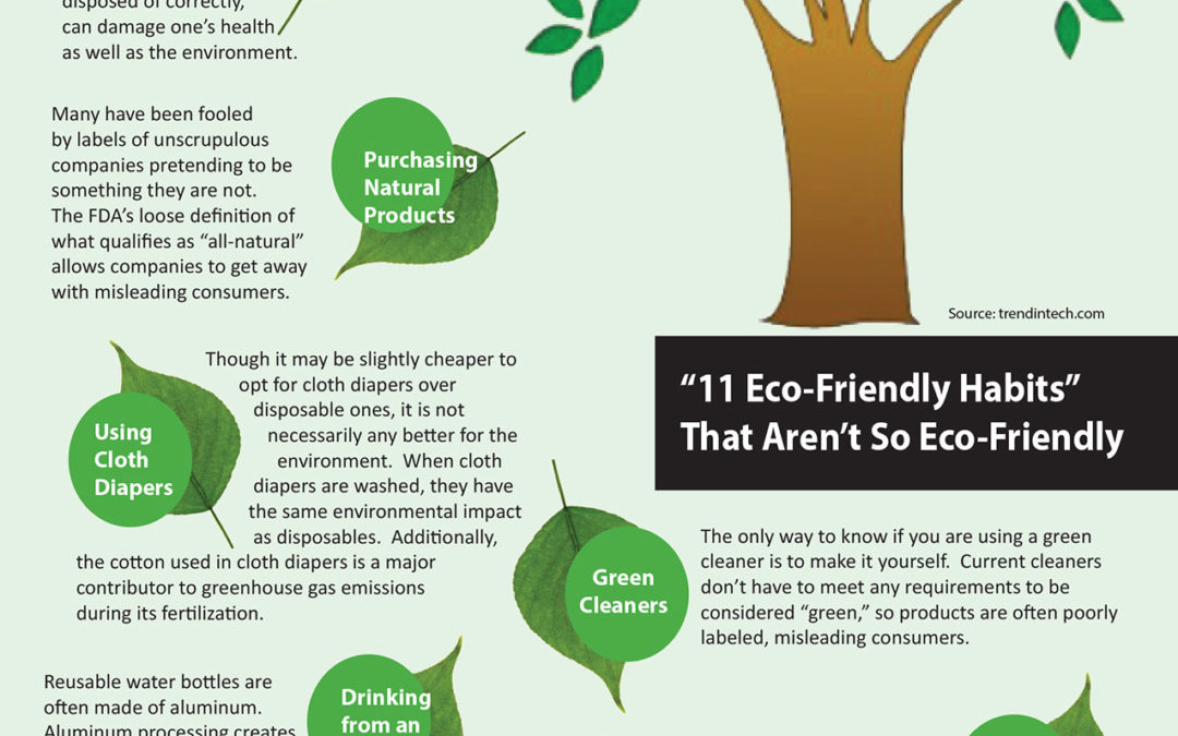 11 Eco Friendly Habits That Aren't So Eco-Friendly