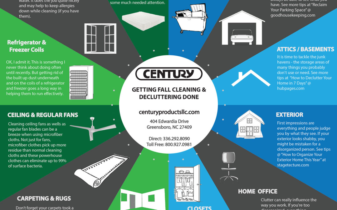 Get a Head Start on Fall Cleaning and Decluttering
