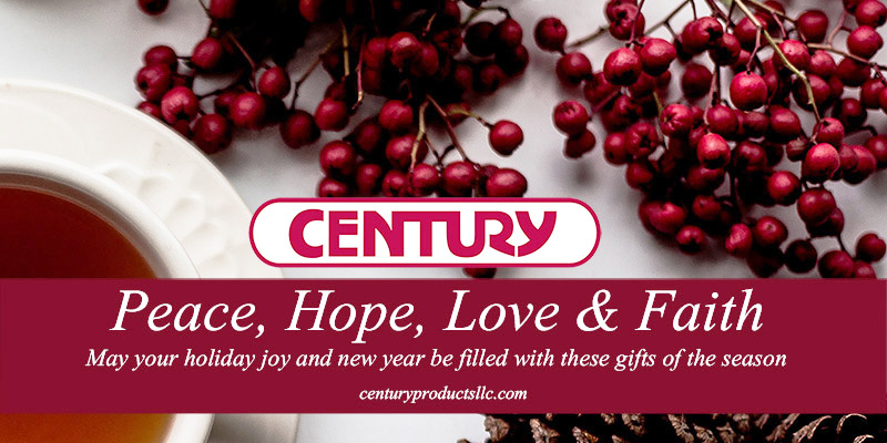 Happy Holidays from Century Products