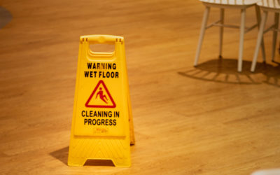 Mop, Sweep and Sign: The Importance of Safety While Cleaning