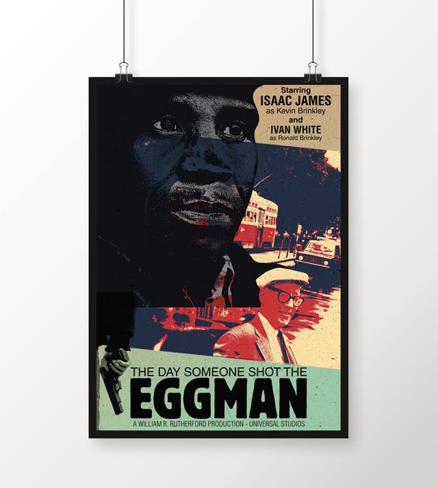 Eggman, poster design, Carol McDonald