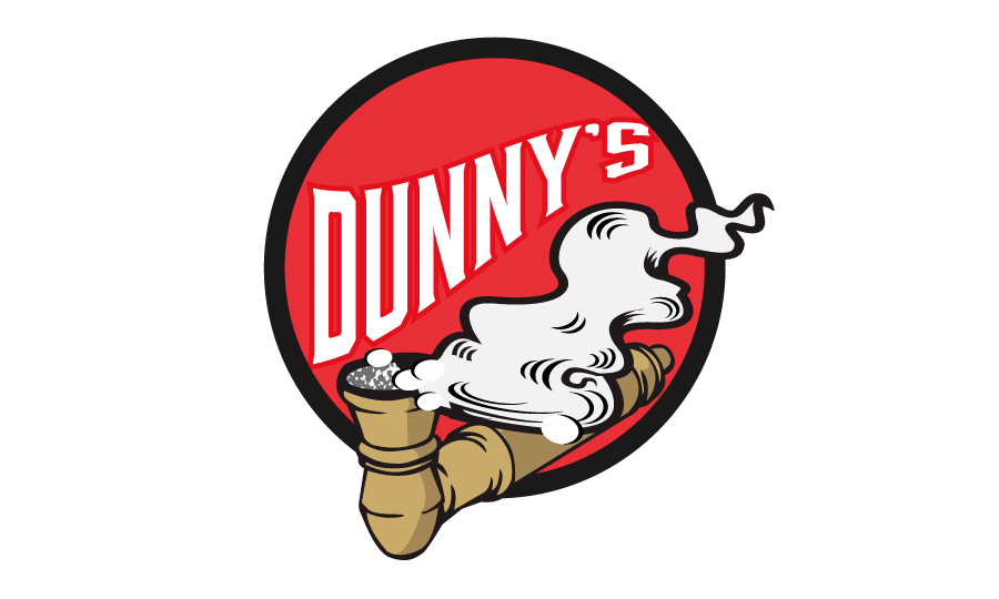 Barefoot Creations - Dunny's Smoke Shop Logo