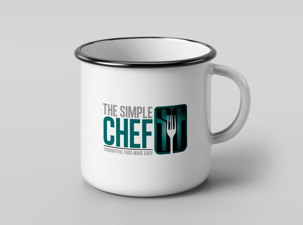 Barefoot Creations - Simple Chef Brand Mug