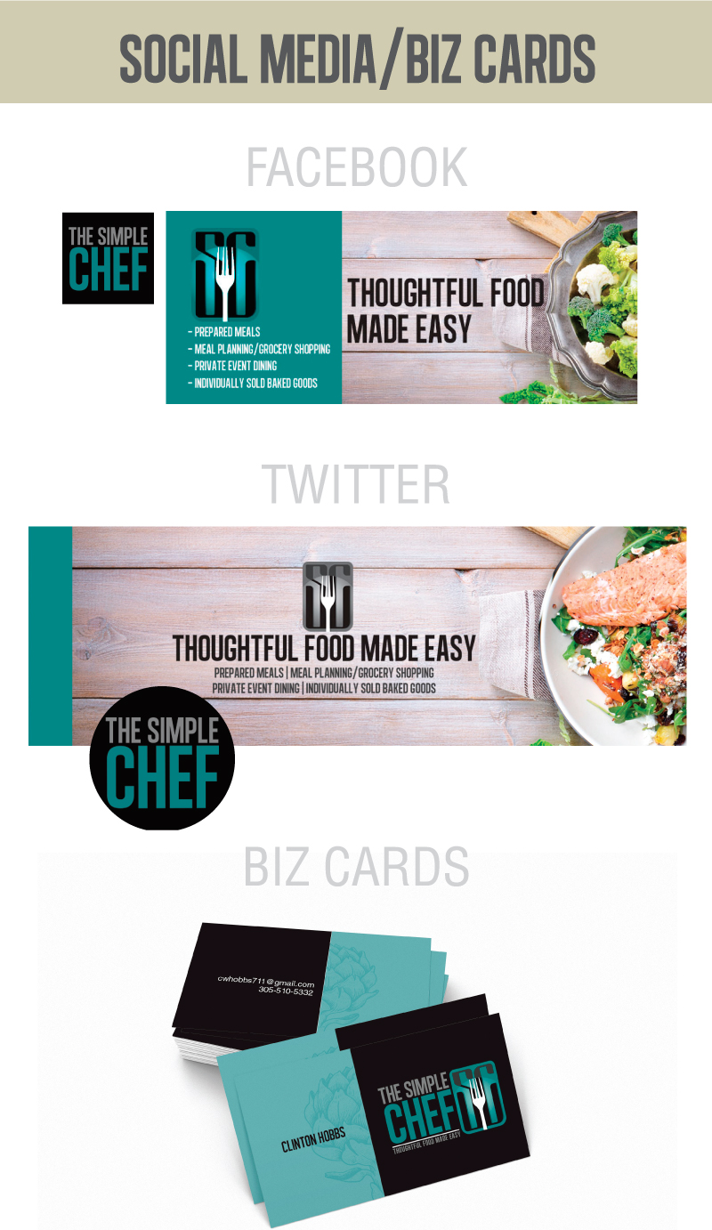 Barefoot Creations - Simple Chef Social Media