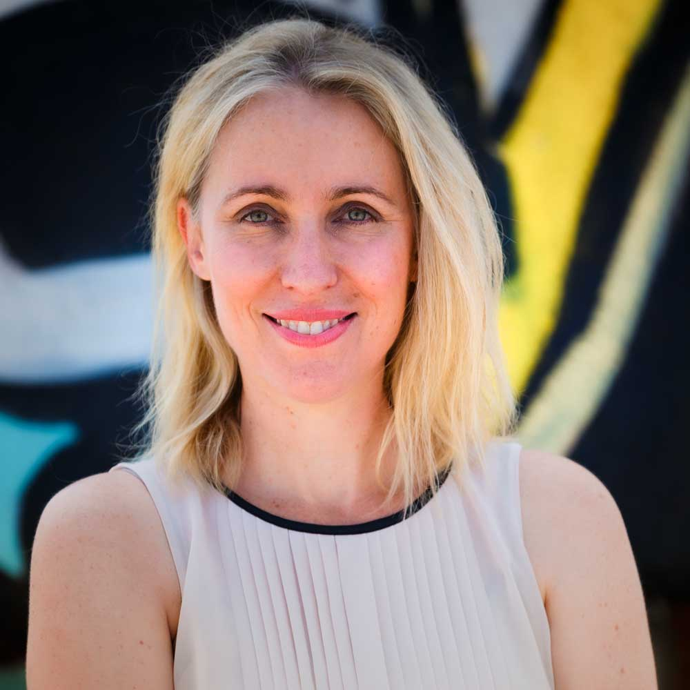 Simonne Overend VP of Scripted Development EQ Media Group