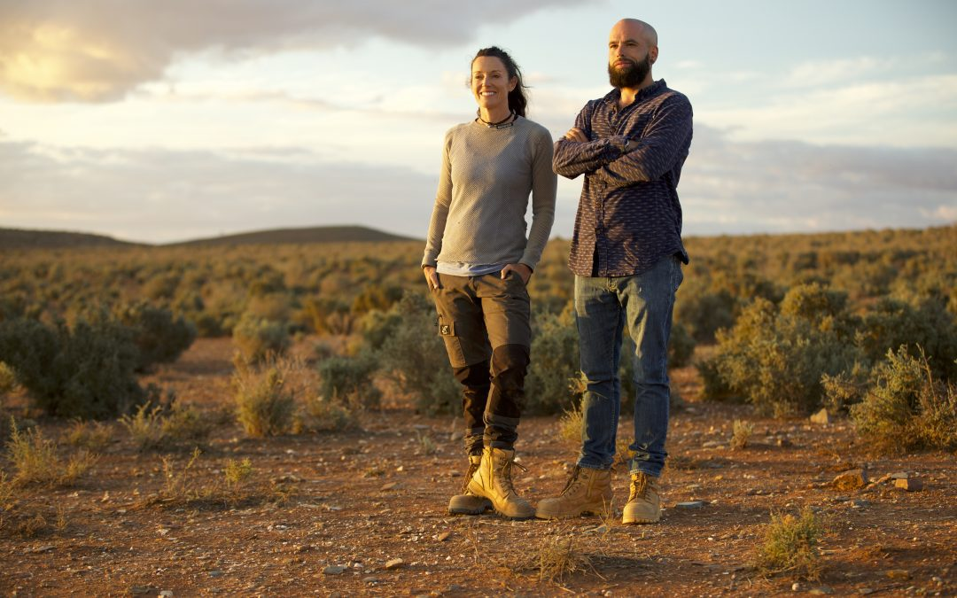 SURVIVALISTS GO IN LOCKDOWN IN THE REMOTE OUTBACK OF AUSTRALIA IN ALL NEW DISCOVERY SERIES