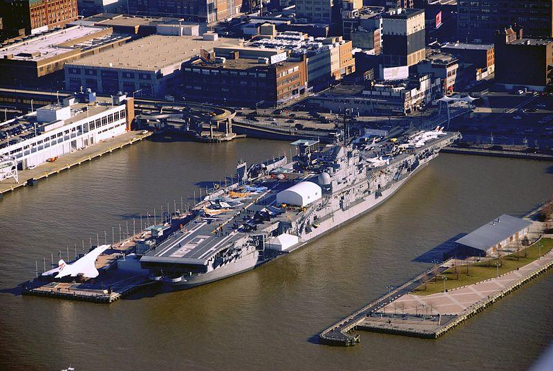 manhattan aircraft carrier
